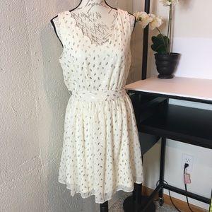 By&By Sleeveless Cutout Mini Dress Jr. Size L